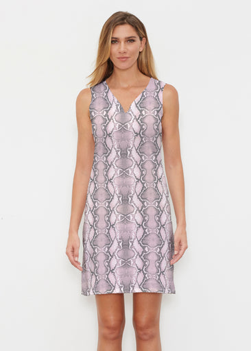 Python Blush (7273) ~ Classic Sleeveless Dress