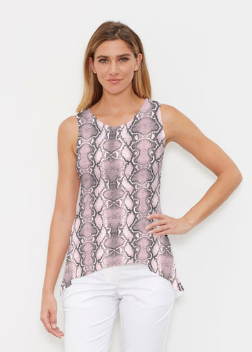Python Blush (7273) ~ Signature High-low Tank