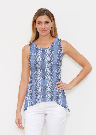 Python Blue (7275) ~ Signature High-low Tank