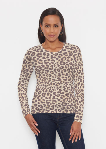 Jaguar Sand (7280) ~ Signature Long Sleeve Crew Shirt