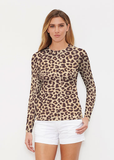 Jaguar Sand (7280) ~ Long Sleeve Rash Guard