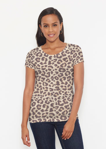 Jaguar Sand (7280) ~ Signature Short Sleeve Scoop Shirt