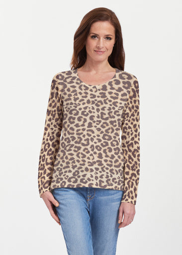 Jaguar Sand (7280) ~ Texture Mix Long Sleeve
