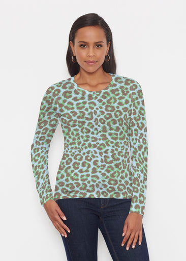 Jaguar Mint (7285) ~ Signature Long Sleeve Crew Shirt
