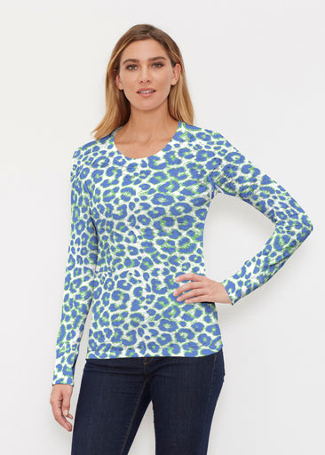 Jaguar Royal (7287) ~ Thermal Long Sleeve Crew Shirt