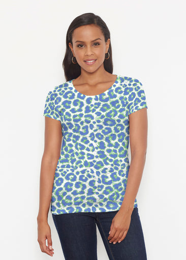 Jaguar Royal (7287) ~ Signature Short Sleeve Scoop Shirt