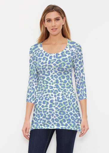Jaguar Royal (7287) ~ Buttersoft 3/4 Sleeve Tunic