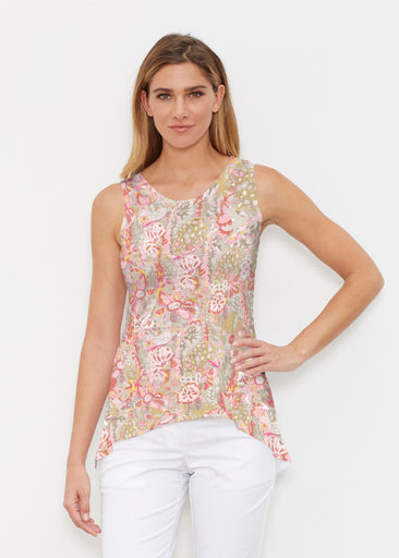 Bohemian Pink (7608) ~ Signature High-low Tank