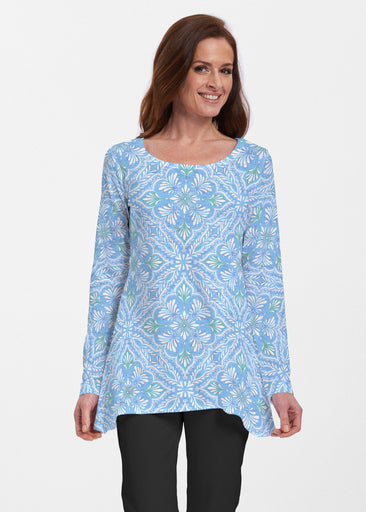 Ceramic Tiles Aqua (7615) ~ Abigail Thermal Tunic