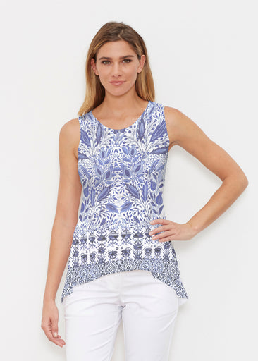 Inzik Blue (7616) ~ High-low Tank