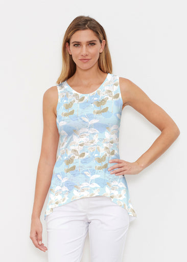 On Blue (7622) ~ High-low Tank