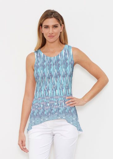 Spirited Aqua (7628) ~ High-low Tank