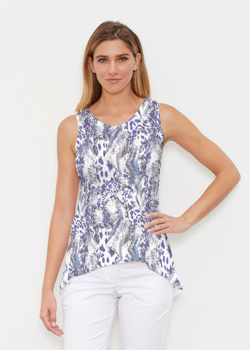 Abstract Leopard (7647) ~ Signature High-low Tank