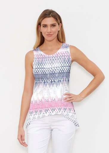Echo Pink (7658) ~ Signature High-low Tank