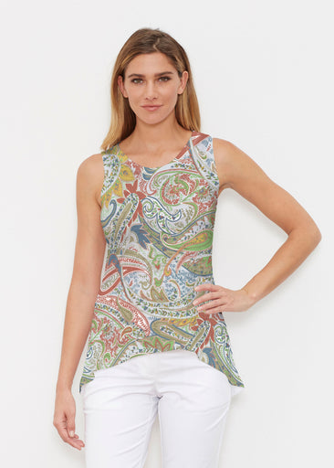 Provincial Paisley (7678) ~ High-low Tank