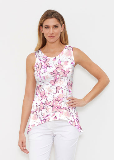 Edgy Rose Pink (7689) ~ High-low Tank