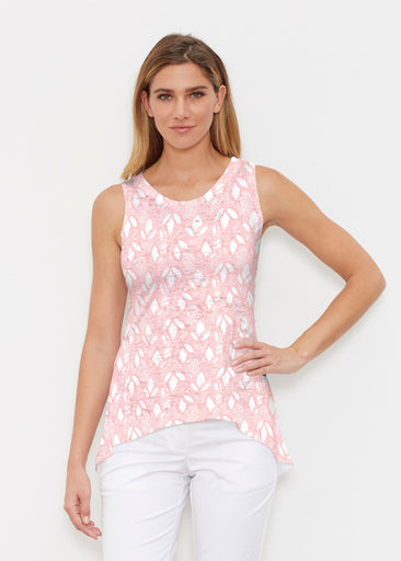 Dottie Coral (7699) ~ High-low Tank