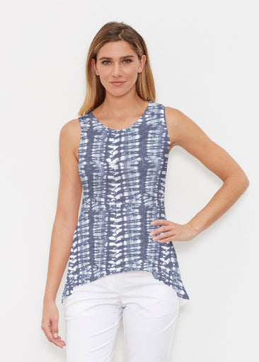 Electric Blue (7719) ~ Signature High-low Tank