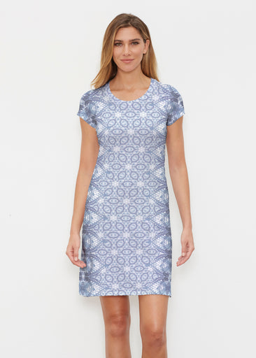 Picket Daisy (7729) ~ Classic Crew Dress