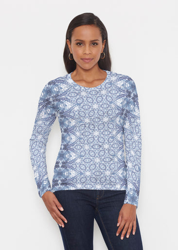 Picket Daisy (7729) ~ Signature Long Sleeve Crew Shirt