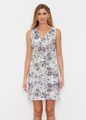 Tulip Leopard Multi (7731) ~ Classic Sleeveless Dress