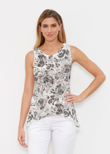 Tulip Leopard Multi (7731) ~ Signature High-low Tank