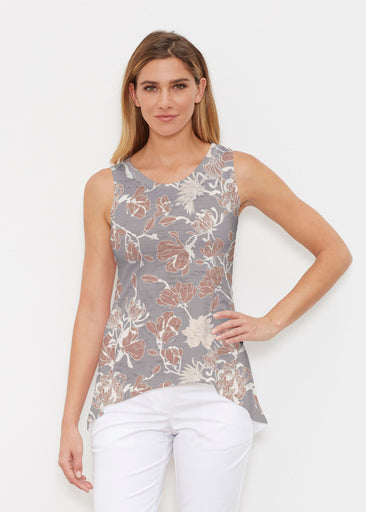 Melina Blooms Multi (7751) ~ Signature High-low Tank