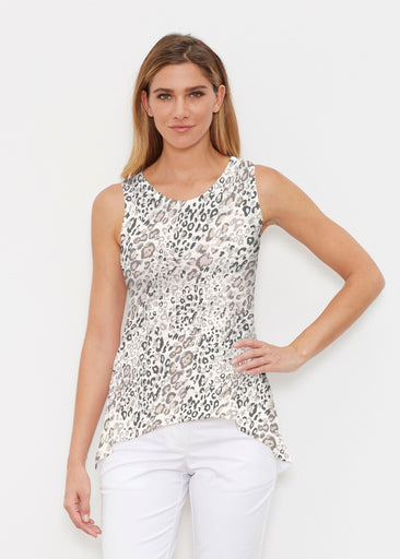 Greek Cat Grey (7752) ~ Signature High-low Tank