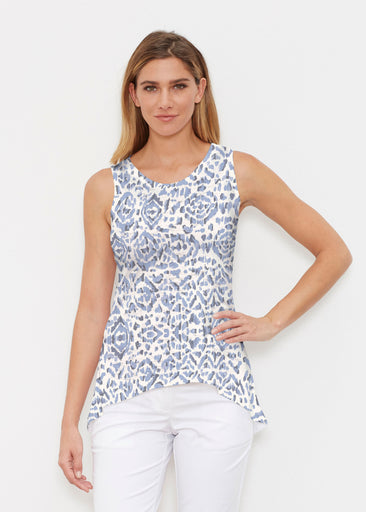 Batik Zebra (7753) ~ Signature High-low Tank