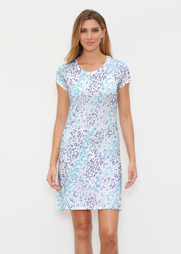 Cat Blue (7755) ~ Classic Crew Dress