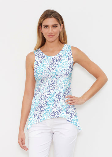 Cat Blue (7755) ~ Signature High-low Tank