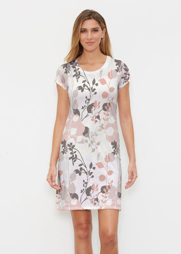 Flowers and Foliage (7765) ~ Classic Crew Dress