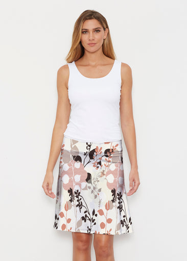 Flowers and Foliage (7765) ~ Silky Brenda Skirt 21 inch