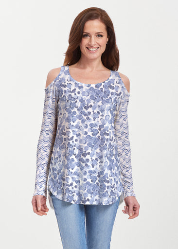 Oh Stamped (7784) ~ Butterknit Cold Shoulder Tunic