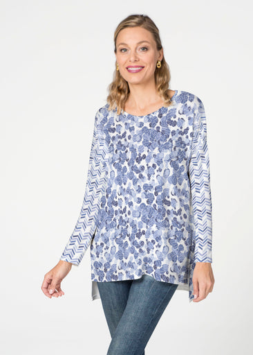 Oh Stamped (7784) Slouchy Butterknit Top
