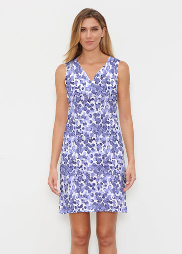 Oh Stamped (7784) ~ Vivid Sleeveless Dress