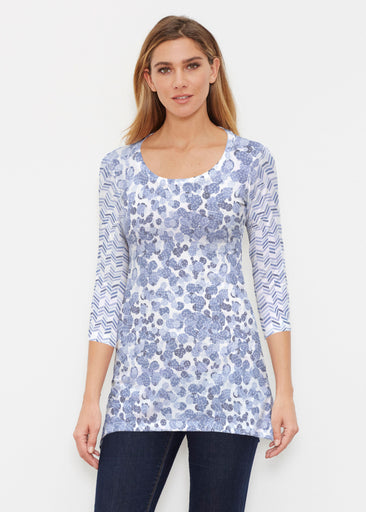 Oh Stamped (7784) ~ Buttersoft 3/4 Sleeve Tunic