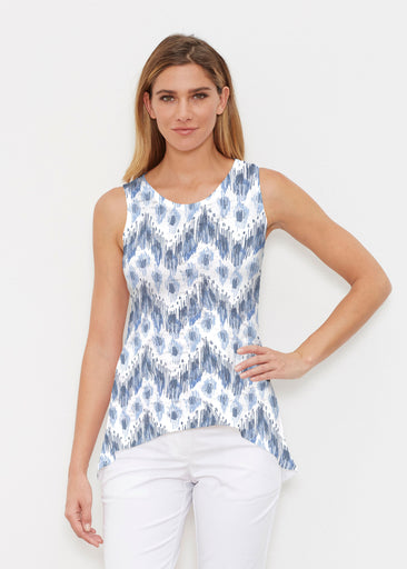 Tonal Waves Blue (7804) ~ Signature High-low Tank
