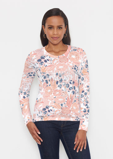 Daydream Florals (7805) ~ Signature Long Sleeve Crew Shirt
