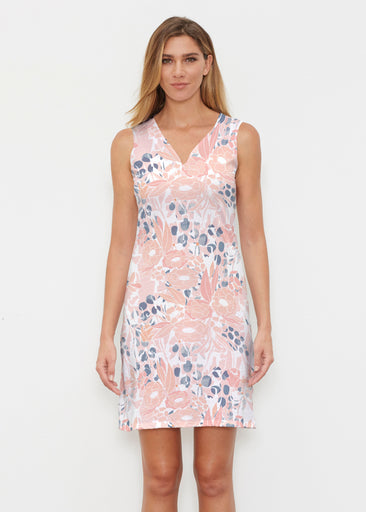 Daydream Florals (7805) ~ Classic Sleeveless Dress