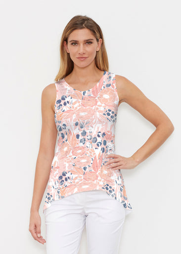 Daydream Florals (7805) ~ Signature High-low Tank