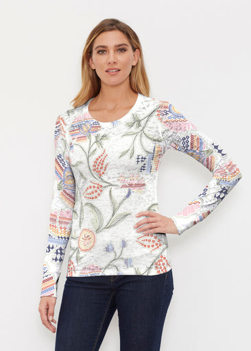 Patterns at Play (7806) ~ Thermal Long Sleeve Crew Shirt