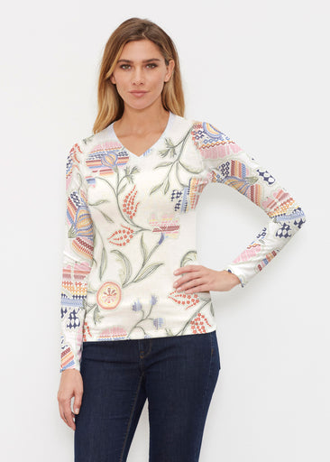 Patterns at Play (7806) ~ Butterknit Long Sleeve V-Neck Top