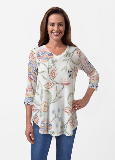 Patterns at Play (7806) ~ Butterknit V-neck Flowy Tunic