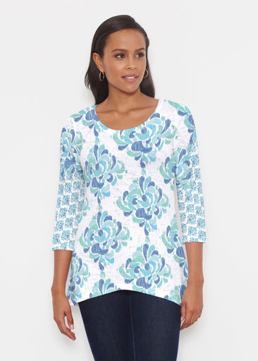 Be Jeweled (7811) ~ Katherine Hi-Lo Thermal Tunic