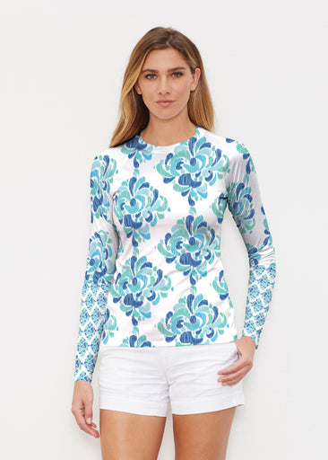 Be Jeweled (7811) ~ Long Sleeve Rash Guard