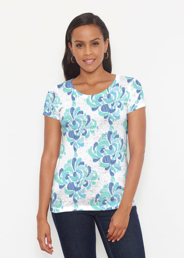 Be Jeweled (7811) ~ Signature Short Sleeve Scoop Shirt