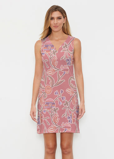 Patterns At Play Apricot (7826) ~ Classic Sleeveless Dress
