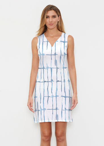 Knotted Tie Dye (7844) ~ Classic Sleeveless Dress