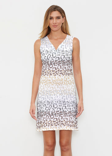 Leopard Ombre (7845) ~ Classic Sleeveless Dress